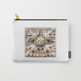 carved stone Carry-All Pouch
