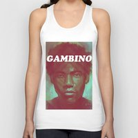 childish gambino Tank Tops featuring Gambino by NArtist_P3rhaps
