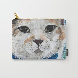 Mr. Peabody Cat Portrait Carry-All Pouch