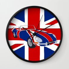 Shaguar (on Union Jack) Wall Clock