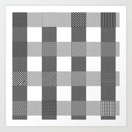 Yogi, B&W Art Print