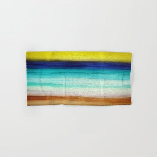 beach abstract Hand & Bath Towel