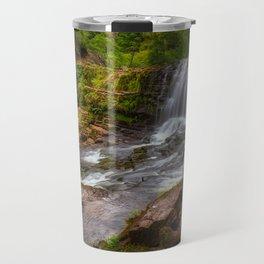 Sgwd Isaf Clun-gwyn panorama Travel Mug