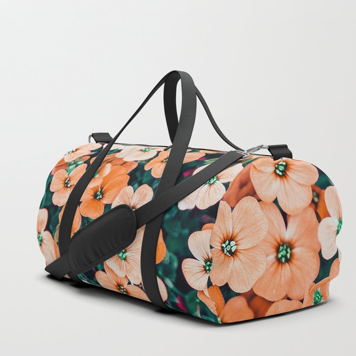 Floral Bliss #photography #nature Duffle Bag