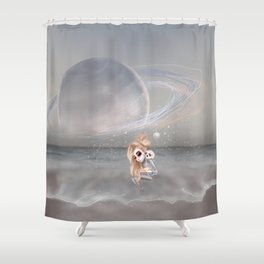 How did I get here, how can I go home. Shower Curtain