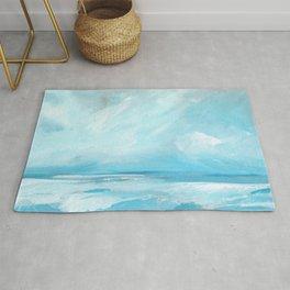 Resurgence - Stormy Ocean Seascape Rug
