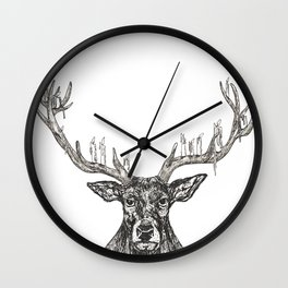 Deeralier Wall Clock