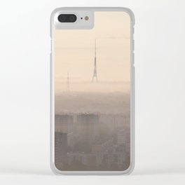 Dawning Utopia Clear iPhone Case