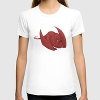 smaug T-shirts featuring Baby Smaug - Textless by Kinsei