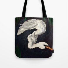 Gwen was a Swan Tote Bag