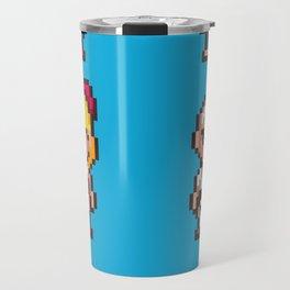 Friends of Mother - Pixel Art Travel Mug