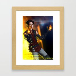 Spark of Honor - Shijo Framed Art Print