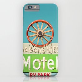 Wagons West Motel iPhone Case