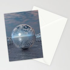 Spheres In The Sun Stationery Cards