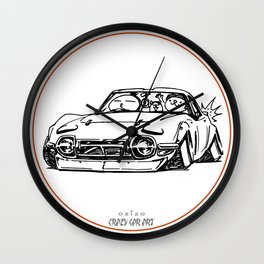 Crazy Car Art 0016 Wall Clock