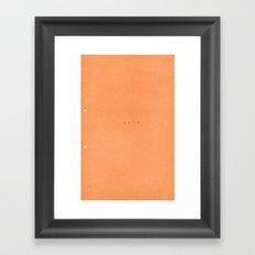 1979 Framed Art Print