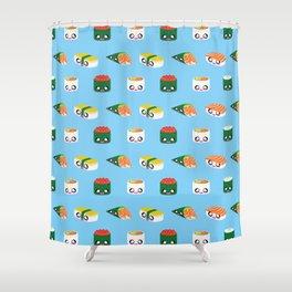 I Love Sushi! Shower Curtain
