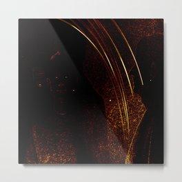 ligth painting # Metal Print