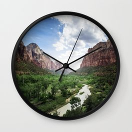Zion Park Wall Clock