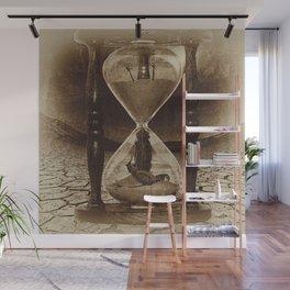 Sands of Time ... Memento Mori - Sepia Wall Mural