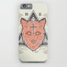 Fox illustration Slim Case iPhone 6s