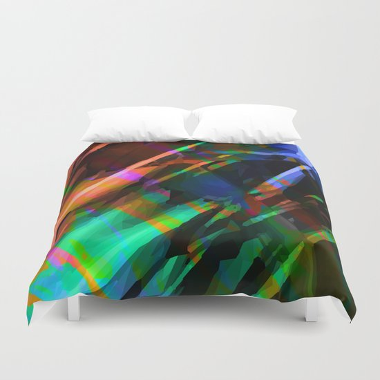 deep cave Duvet Cover