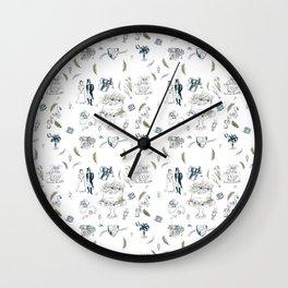 Bride and Preciousness Abigail Wall Clock