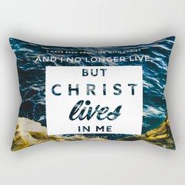 Galatians 2:20 Rectangular Pillow