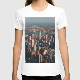 Birds eye view of Empire State Building T-shirt