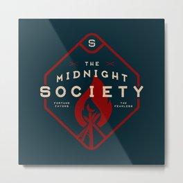 The Midnight Society Metal Print
