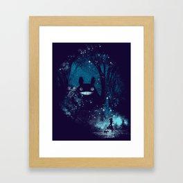 the big friend Framed Art Print