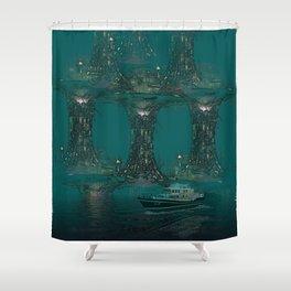 A Few Brave Men. Shower Curtain