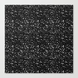 Black Diamond 01 Canvas Print