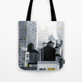 Rainy New York City Tote Bag