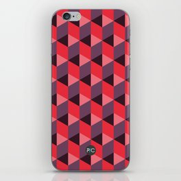 Queen of Hearts [isometrix 013] iPhone Skin