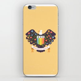 Dreaming (not Screaming) Eagle iPhone Skin