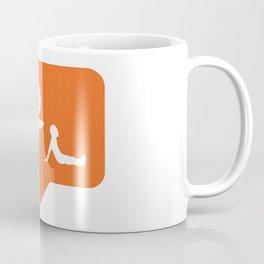 I don't like falling! Coffee Mug