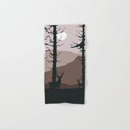 Moonlight into the wood Hand & Bath Towel