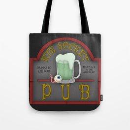 Eye Socket Pub Tote Bag