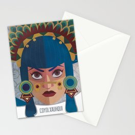 Coyolxauhqui Stationery Cards