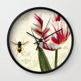 Natural History Sketchbook I Wall Clock
