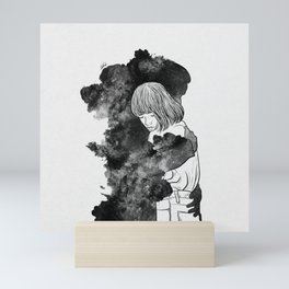 It would takes a life time to get over. Mini Art Print