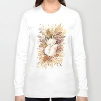 wild Long Sleeve T-shirts featuring Slumber by Freeminds