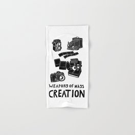 Weapons Of Mass Creation - Photography (clean) Hand & Bath Towel