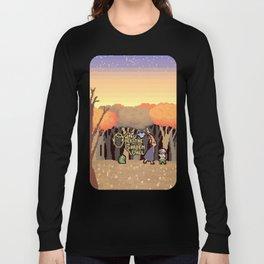 Over the Garden Pixel Long Sleeve T-shirt