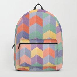 Colorful geometric blocks Backpack