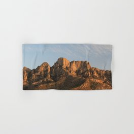 The majesty of the mountains at Catalina State Park I Hand & Bath Towel