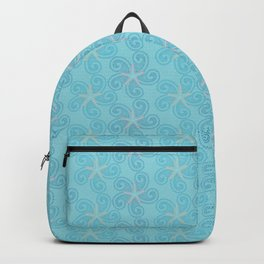 Swirling Starfish Backpack