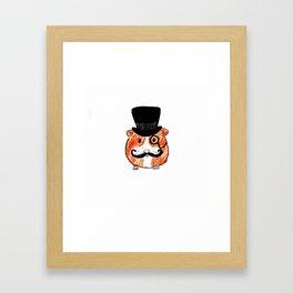 Sir Guinea Pig Framed Art Print