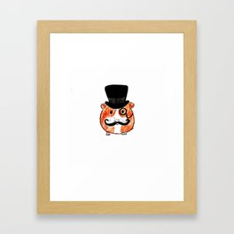 Sir Guinea Pig Framed Art Print